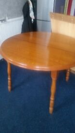 SOLID WOOD TABLE. NOT CHAIRS