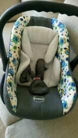 Baby car seat Baby Merc also have pram