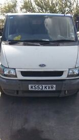 2004 FORD TRANSIT 260S (MANUAL DIESEL)- FOR PARTS ONLY