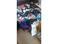 140 ITEMS CLOTHING SHOES BAGS ETC PERFECT FOR CAR BOOT / EBAY