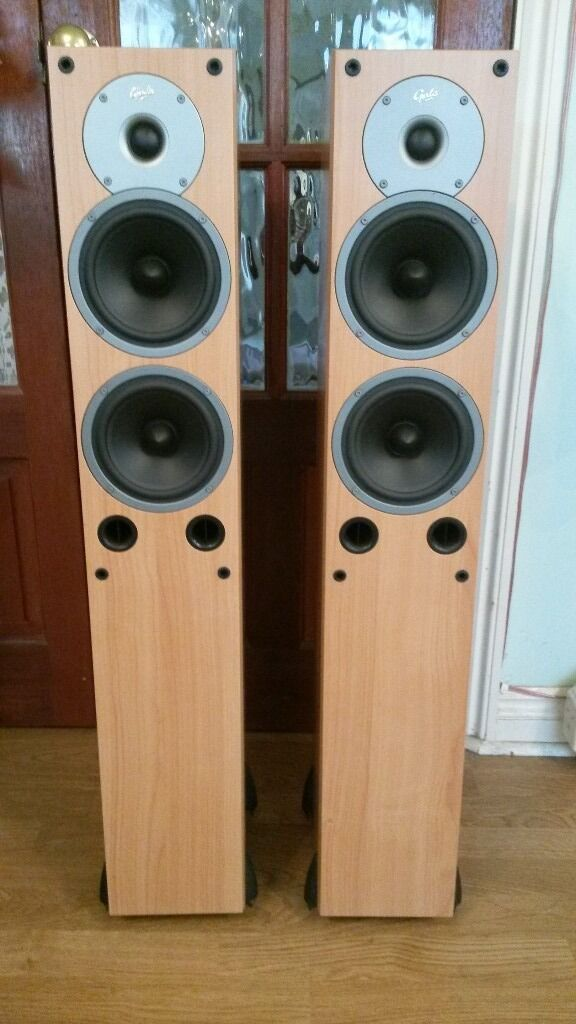 Gale 3040 Floor Standing Speakers Pair In Peacehaven