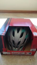 BRAND NEW BELL EVENT XC ADULT BIKE HELMET SILVER WITH MINT GREEN 58-62cm