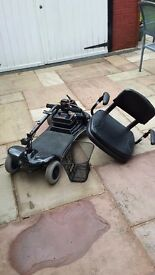 Electric wheel chair sterling little star scooter