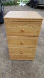 Alstons chest of drawers bedside cabinet