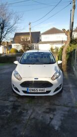 White For Fiesta Zetec - Excellent Condition throughout - 13580 milage