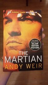 """the Martian"" paperback copy"