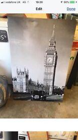 London canvas x2