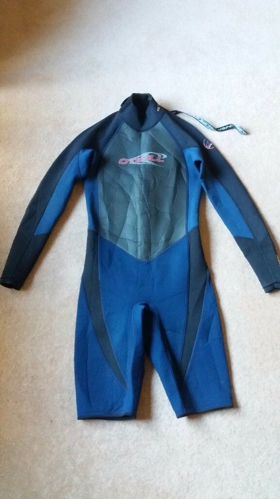 O'neill shortie wetsuit 2:1 (size M) long arms short legs - excellent condition