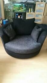 Large swivel chair for sale