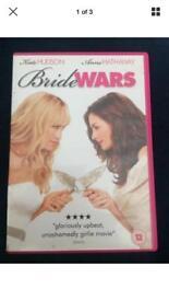 Bride Wars Dvd Kate Hudson Anne Hathaway Chick Flick Comedy Romance