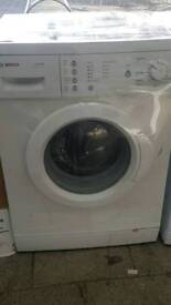 BOSCH WASHING MACHINE COMES WITH WARRANTY CAN BE DLIVERED