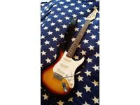 """Electric guitar """"strat"""" style."""