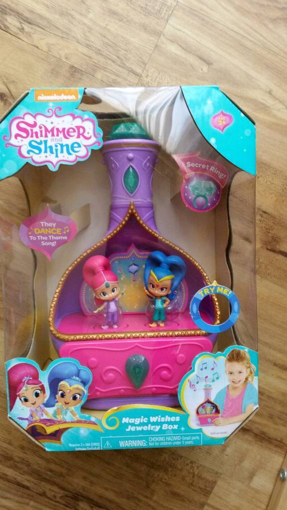 Shimmer and Shine Magic Wishes Musical Jewellery Box | in Bristol | Gumtree