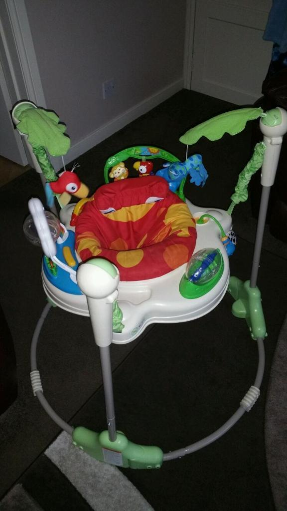 Jumperoo in bathgate west lothian gumtree for Door jumperoo