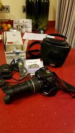 Canon 1000d DSLR and Tamron lens