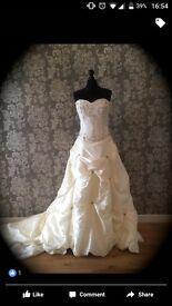 Wedding Job lot, wedding dress, 3 bridesmaid dresses & flower girl dress
