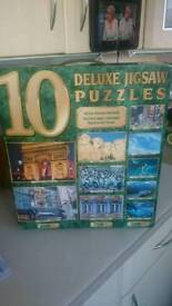Unopened Box of Jigsaw Puzzles