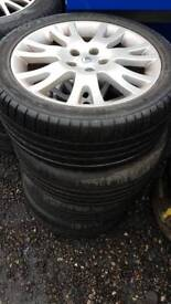 Renault alloy wheels r17