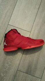 Red Jordan Trainers