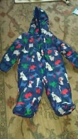 Bluezoo Snowsuit 6-9 months