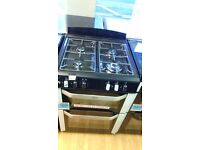 BELLING 60cm dual fuel gas cooker new ex display