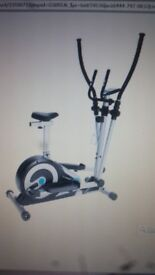 2 IN 1 ELLIPTICAL X TRAINER IN MINT CONDITION