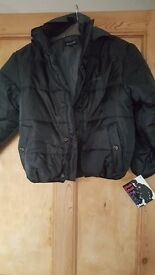 BNWT boys black schott jacket age 8