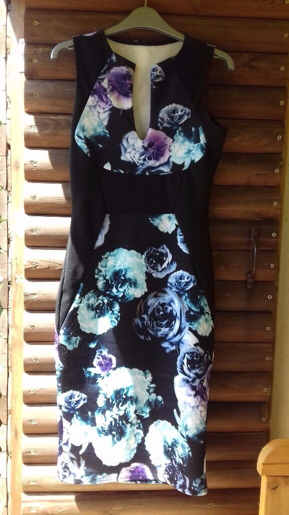 Bodycon dressin Attleborough, NorfolkGumtree - Bodycon occasion dress flower design stunning on, only worn once for promotional evening. Collection only