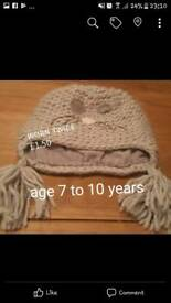 Girls wool hat