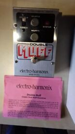 Electro-Harmonix Double Muff Distortion Pedal
