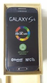 Samsung Galaxy S4 16GB SIM FREE UNLOCKED To All Networks in a Box with all the Accessories