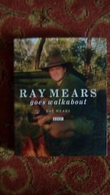 Hand signed book by Ray mears
