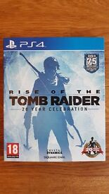 RISE OF THE TOMB RAIDER, 20 YEAR CELEBRATION EDITION - PLAYSTATION 4 (PS4) GAME