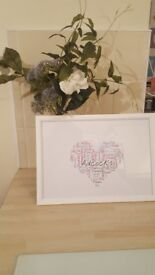 Personalised Word Art A4 Family Print