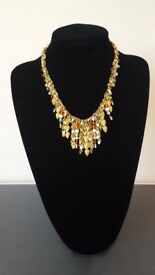 Beautiful Swarovski Necklace with Pearls and Coloured Crystals - Great Xmas Present