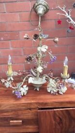 Antique style chandelier. REDUCED