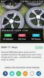 """17""""alloy wheels"""