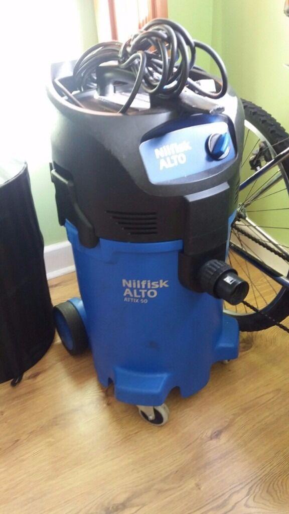 Nilfisk Alto Attix 50-01 PC Single Phase Wet & Dry Vacuum Cleaner