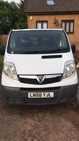 Vauxhall, VIVARO, Panel Van, 2008, Manual, 1995 (cc)