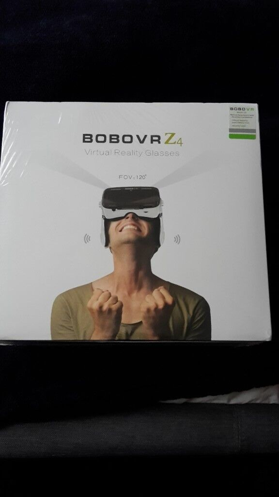 Bobo vr z4 3d headset brand new