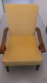 Pair of original 1950s Chairs. £70.00 ovno for both chairs