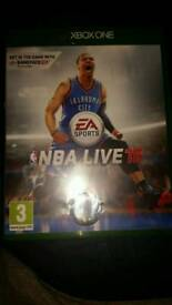 🎮NBA Live 16. Xbox One Game. As New!🎮