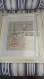 Anne Tavoletti framed picture - NEW