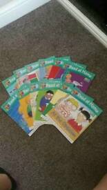 Read at home biff, kipper chip books