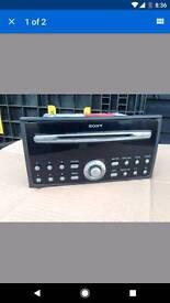 Sony 6 disc cd radio