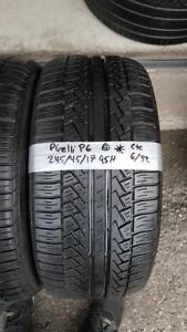 245/45/17 4 pneu ete pirelli p6
