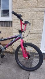 Apollo Awesome BMX black and pink