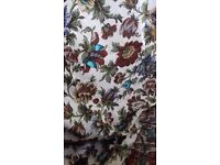 Good quality fully lined curtains .6 pair all same material.Sell separately or as a lot