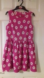 M&S Flowery Girls Dress