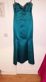 Formal long strapless dress Designer Julian Macdonald - unworn